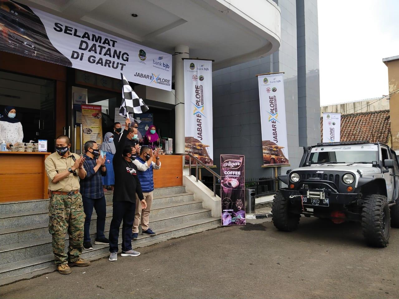 Dukung Explorasi Wisata di Jawa barat, Kacab BJB Garut ...